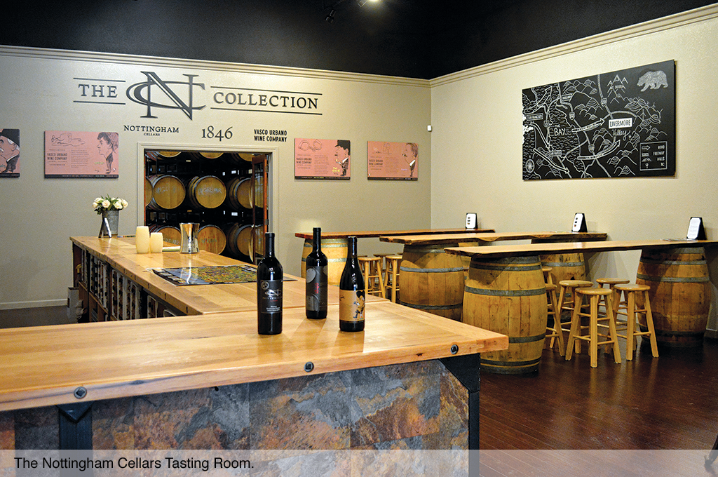 The Nottingham Cellars Tasting Room.