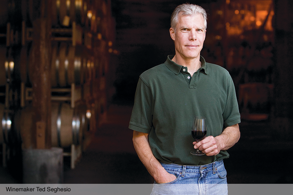Winemaker Ted Seghesio