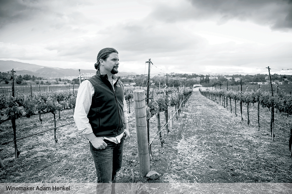 Winemaker Adam Henkel