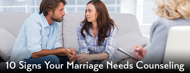 10 Warning Signs Your Marriage Needs Couple Counseling