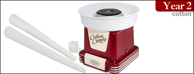 Nostalgia Electronics Retro Seires Cotton Candy Machine